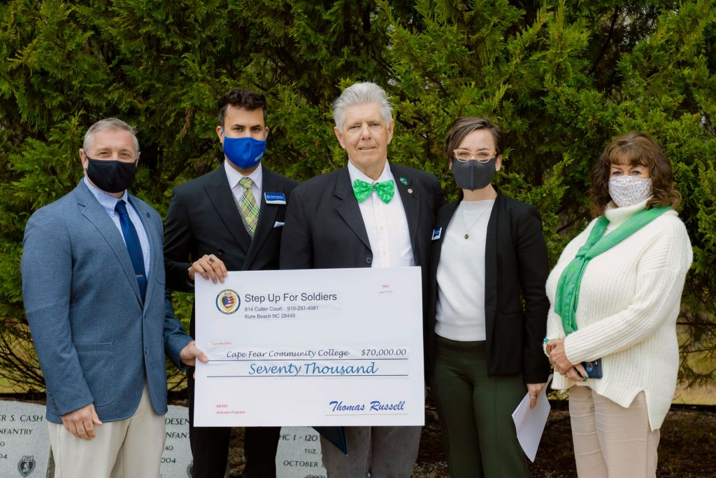 Step Up for Wilmington Check Presentation