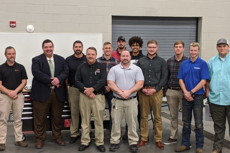 Diesel and Heavy Equipment Students