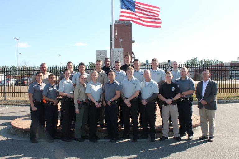 Basic Law Enforcement Training Feb. 2020 Graduating Class