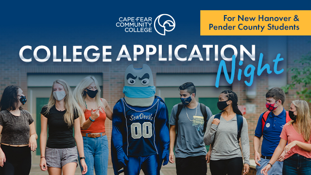 College Application Nights for New Hanover & Pender County Students