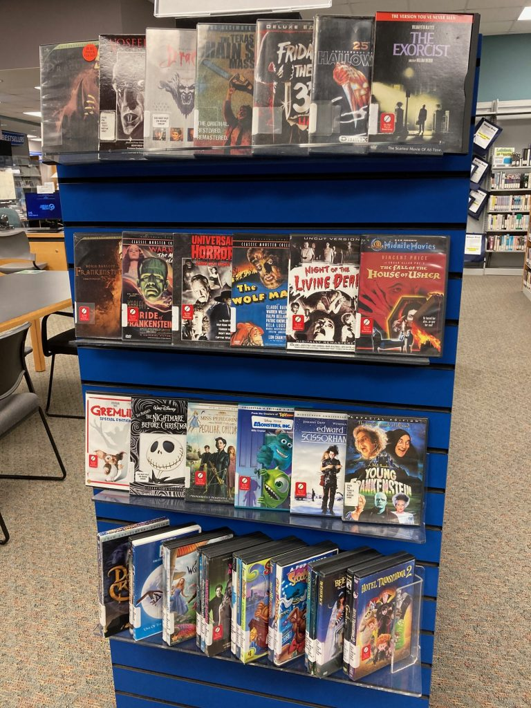 Halloween Library Movies