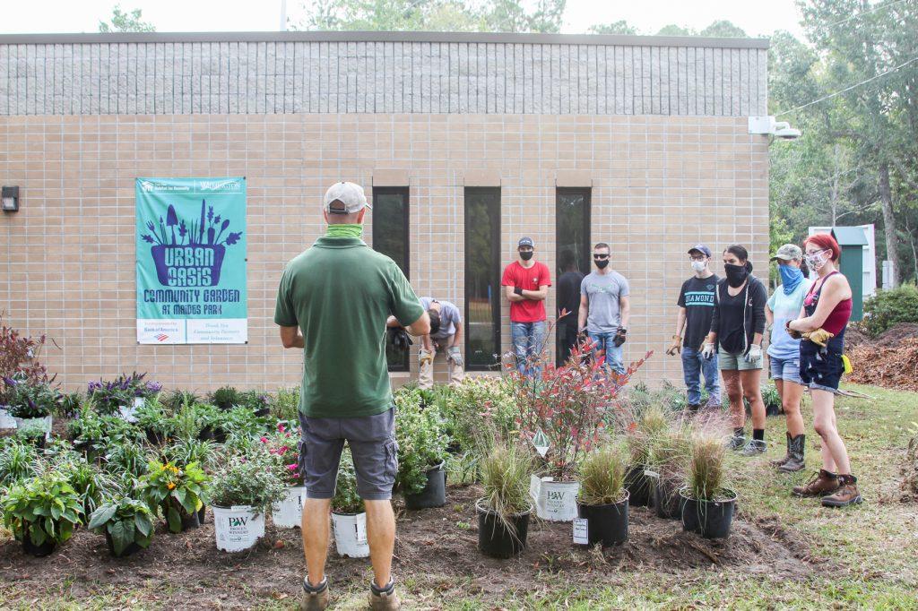 Landscape Gardening Students at Maides Park