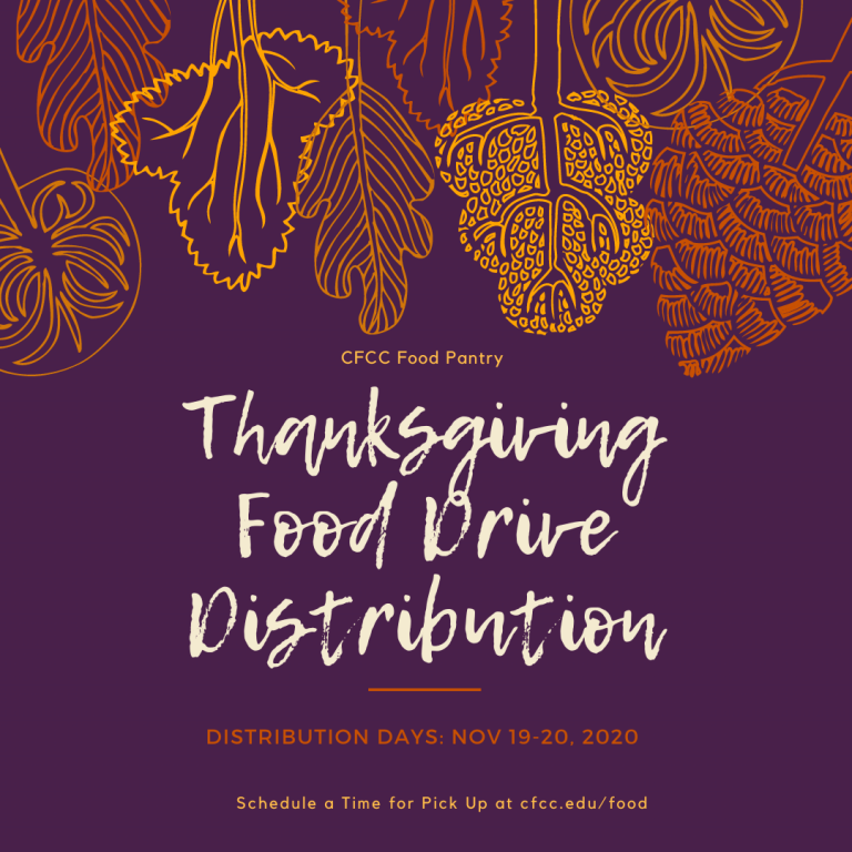 Thanksgiving Food Drive Distribution Days