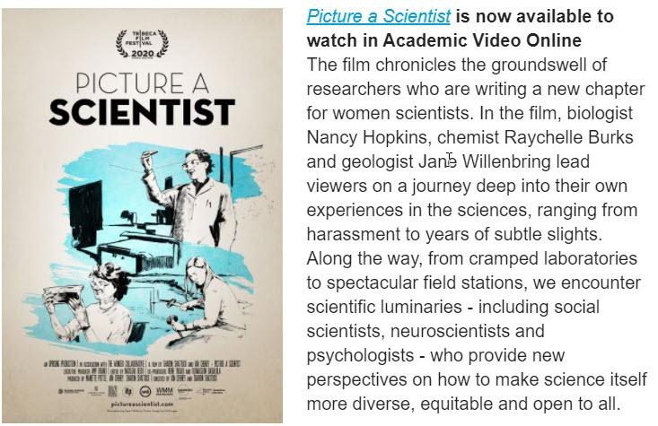 Picture a Scientist Film and Description