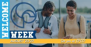 Welcome Week Aug. 23-27